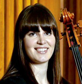 Cellist Emma Quackenbush is waiting to be adopted.