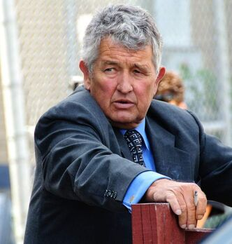 Jack King during a day of testimony before a judicial panel in 2012.