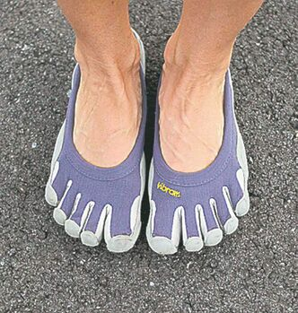 Vibram Five Finger shoes have caught on with barefoot runners who have tender tootsies.