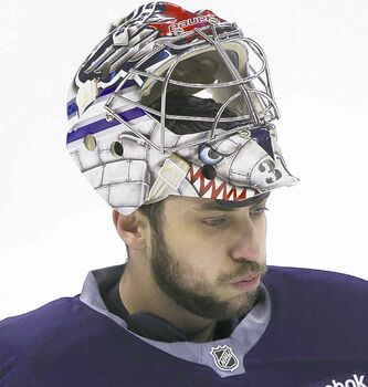 """I will tell you in the hockey circles that I talk to, they have a fairly high opinion of this guy (Ondrej Pavelec) as a goaltender but they can't really get a handle on what he's capable of doing because we haven't given (him) a chance to,"" say coach Paul Maurice."