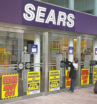 Sears Canada: most at risk