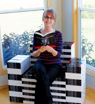 Barbara Joyce-Hawryluk will launch her first novel, Wounded, on Sept. 18 at 7 p.m. at The Gates.