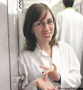 Megan Jack is the first deaf student enrolled in faculty of medicine at the U of M.