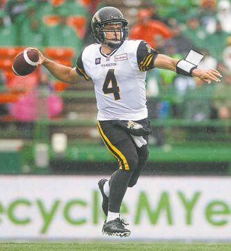 Ticats QB Zach Collaros is out for at least six games.