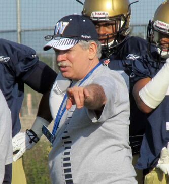 New Blue Bombers defensive co-ordinator Gary Etcheverry says he's 'so far behind the times, we're ahead of the times.'