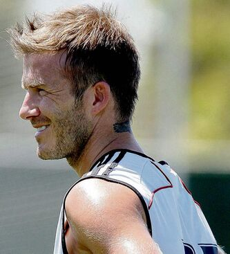 Los Angeles Galaxy�s David Beckham