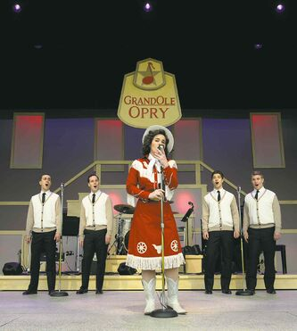 Natasha O'Brien as Patsy Cline.