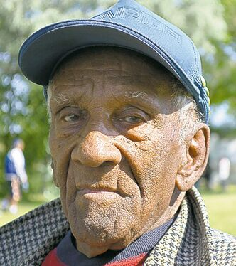 Harold Brown, 95, will soon have a place to live.