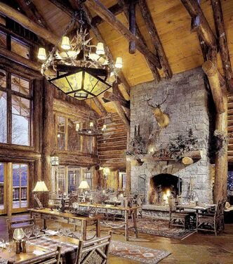 KANU is a stunning Adirondack-style dining room at Whiteface Lodge in Lake Placid.