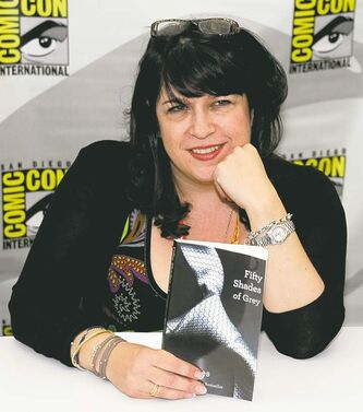Author E L James