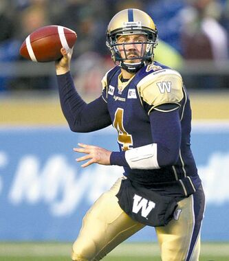 Blue Bombers quarterback Buck Pierce wasn't spectacular in his return but was steadily effective Friday, making few mistakes and not digging Winnipeg into any holes.