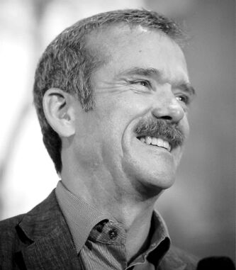 'Earth gets hit by 100 tons of meteorites every day,' Chris Hadfield says.