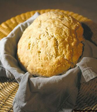 Grant's Old Mill Bannock  is lighter and sweeter than many traditional versions.