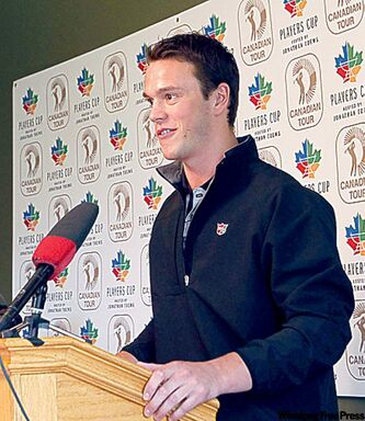 Jonathan Toews looks forward to playing NHL hockey in his hometown.