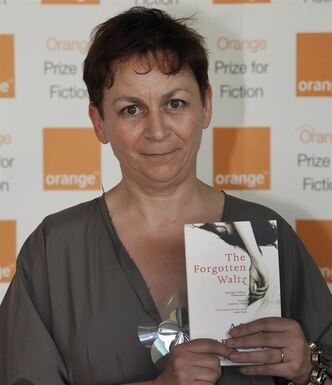 Author Anne Enright of 'The Forgotten Waltz' poses in London, on May 30, 2012. THE CANADIAN PRESS/AP, Lefteris Pitarakis