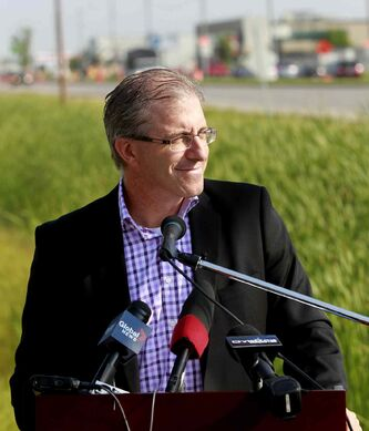 'Building this phase of BRT would be a monumental mistake for our city that would be one that we would regret for decades to come..' says mayoral candidate Gord Steeves.