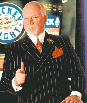 Don Cherry never gets tongue-tied!