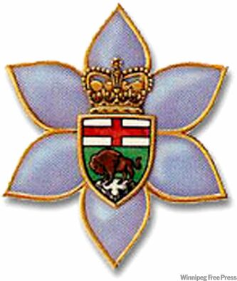 The Order of Manitoba medal