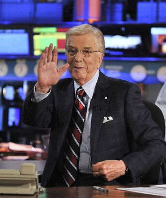 Lloyd Robertson's final newscast on CTV was Sept. 1, 2011.