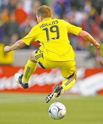 Robbie Rogers of the Columbus Crew kept his sexual orientation a secret for 25 years.