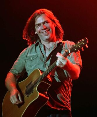 Great Big Sea's Alan Doyle.