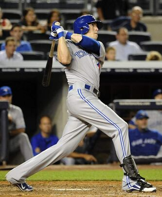 Toronto Blue Jays' Colby Rasmus will visit Winnipeg in early January.
