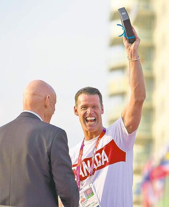 Jason Ransom / the canadian pressMark Tewksbury, the Canadian Olympic team chef de mission, says that for the athletes, the competition is primary, and they can still attend the closing ceremonies.