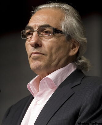 Phil Fontaine was appointed to the Order of Canada for his work with First Nations.
