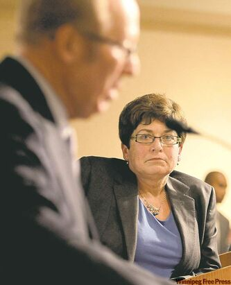 Judy Wasylycia-Leis denies Katz's allegations made during the forum on Wednesday.