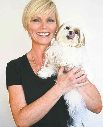 Candice Bell (with Toshi)