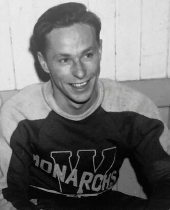<p>SUPPLIED photos</p><p>George Robertson died from COVID-19 in January at the age of 93. He was the oldest alumnus of the Montreal Canadiens.</p>