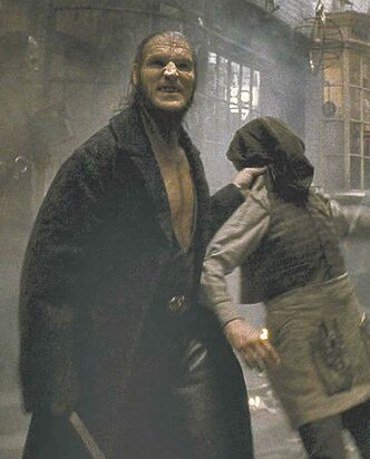 Dave Legeno as Fenrir Greyback.
