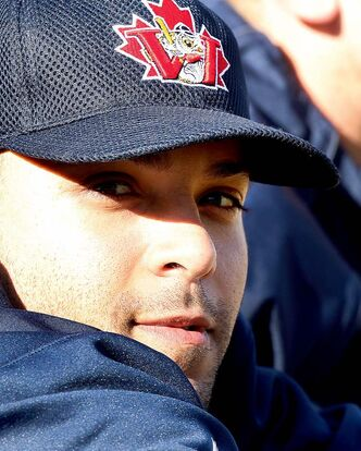 "Goldeyes utility man Dan Barbero will ""eat grass"" to stay on if need be."