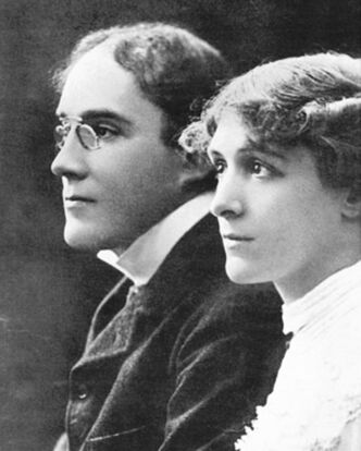 Mabel Hackney and Laurence Irving died aboard the Empress of Ireland.