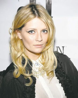 Actress Mischa Barton arrives at the DeLeon Tequila Two Year Anniversary party at Chateau Marmont in Los Angeles on Sunday, May 15, 2011.  (AP Photo/Dan Steinberg)