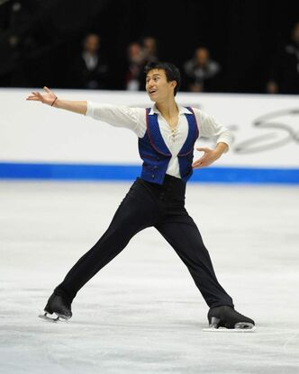 Patrick Chan feels the love from Canadian audiences when performing in Stars on Ice.