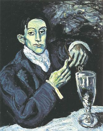 Picasso's The Absinthe Drinker