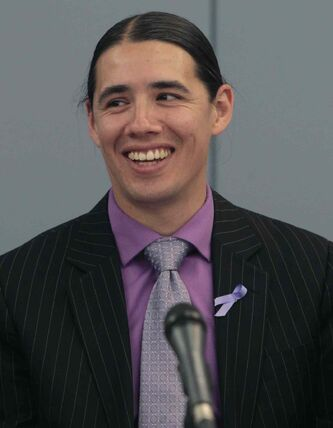 Mayoral candidate Robert-Falcon Ouellette released a series of pledges aimed at children today.