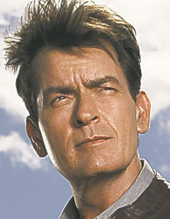 ANGER MANAGEMENT: Charlie Sheen.