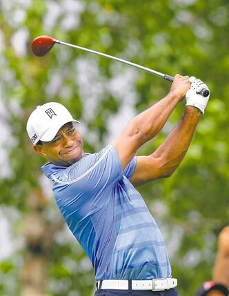 Tiger Woods fired a 4-under 67, and a tie for  seventh after the first round.