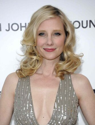 Actress Anne Heche arrives at the Elton John Academy Award viewing party in West Hollywood, Calif. in 2011.