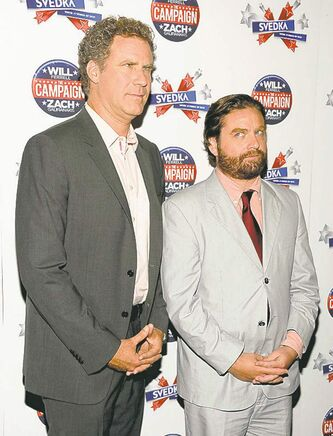 Will Ferrell (left), Zach Galifianakis