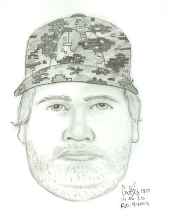 Composite drawing of potential person of interest in the Amber Guiboche case.