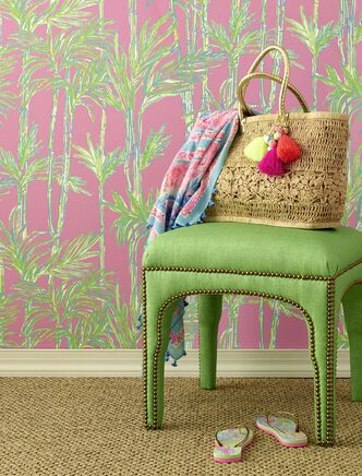 <p>Cultivate your inner botanical style with nature-inspired decor and fashion such as Lilly Pulitzer wallpaper and fabric by Lee Jofa.</p>