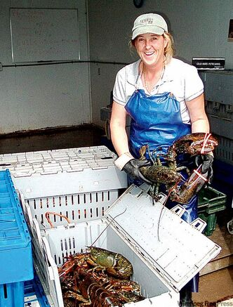 The lobster and deep-sea fishing industry are important to the New Brunswick economy.