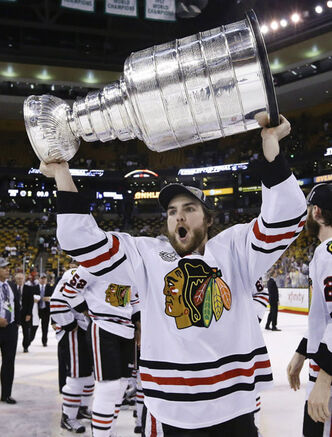 The Jets have acquired winger Michael Frolik from the Chicago Blackhawks for 2013 third round draft pick (74th) and 2013 fifth round draft pick (134th).