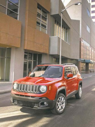 The 2015 Jeep Renegade was unveiled last month at the Geneva Motor Show. The Renegade, which will go on sale by the end of 2014, is the brand's first subcompact SUV and the first Jeep model to be made in Italy.