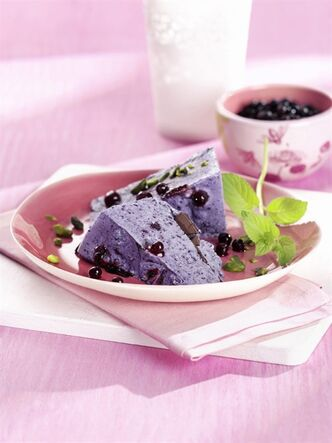 Blueberry mascarpone.