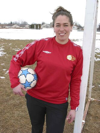 Schriemer will bring her own experiences to the soccer field to help local youngsters later this spring.