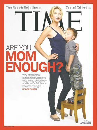 This week's controversial Time magazine cover story explores 'attachment parenting' and the new stresses on mothers.